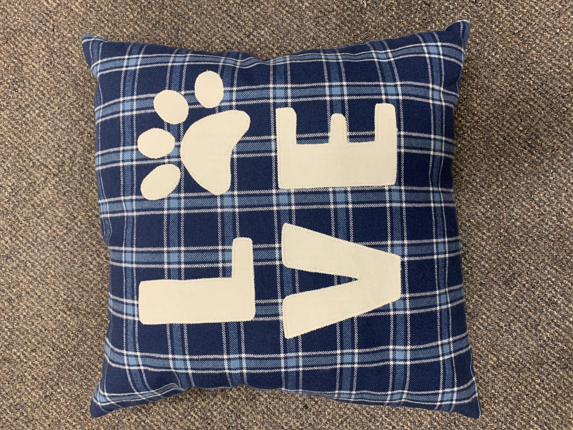 Love Flannel Pillow Kit