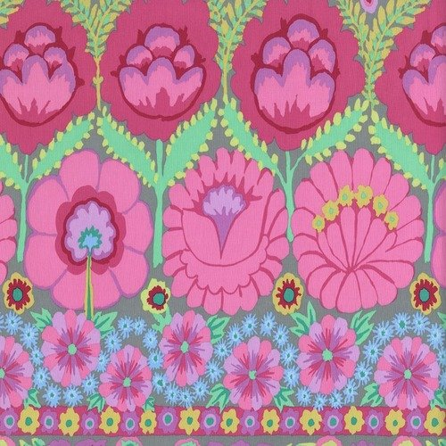 Kaffe Embroidered Flower Pastel