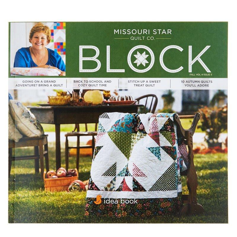 Missouri Star Block Fall Vol 4 Issue 5