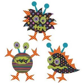 Monster Mash 3 Applique