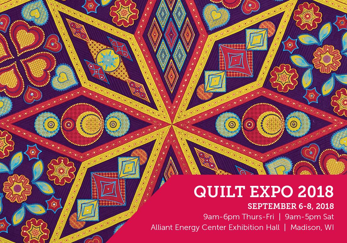 20180707qe Quilt Expo 2018 Bus Trip