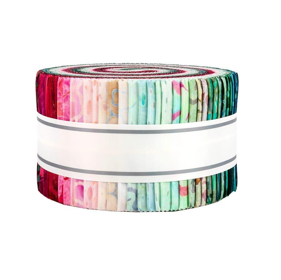 2 1/2 Strips Sakura Batiks - 40 pcs