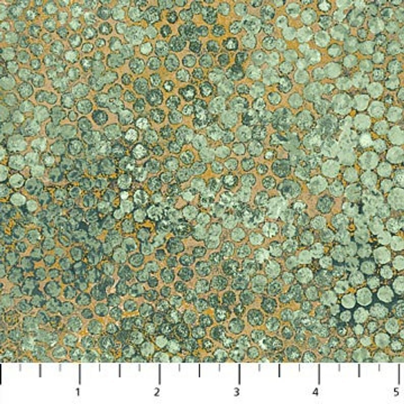 Shimmer Seafoam Earth Dots