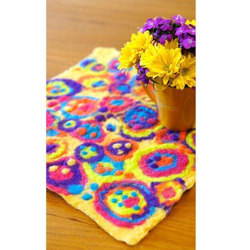 Artfelt  Table Cover/Coasters Kit