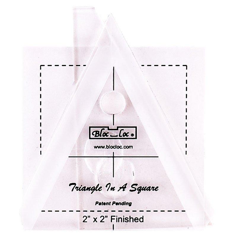 Bloc-Loc Triangle in a Square 2 x 2