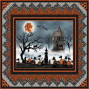 Harvest Moon Large Panel Quilt Kit
