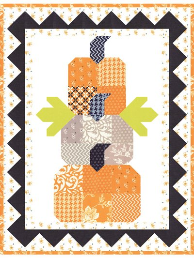 Pumpkin Trio Quilt Kit