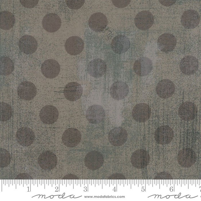 Grunge Spots Grey Couture