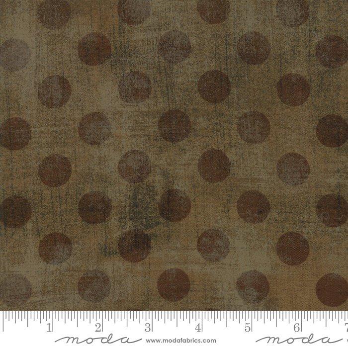 Grunge Spots Fur Brown