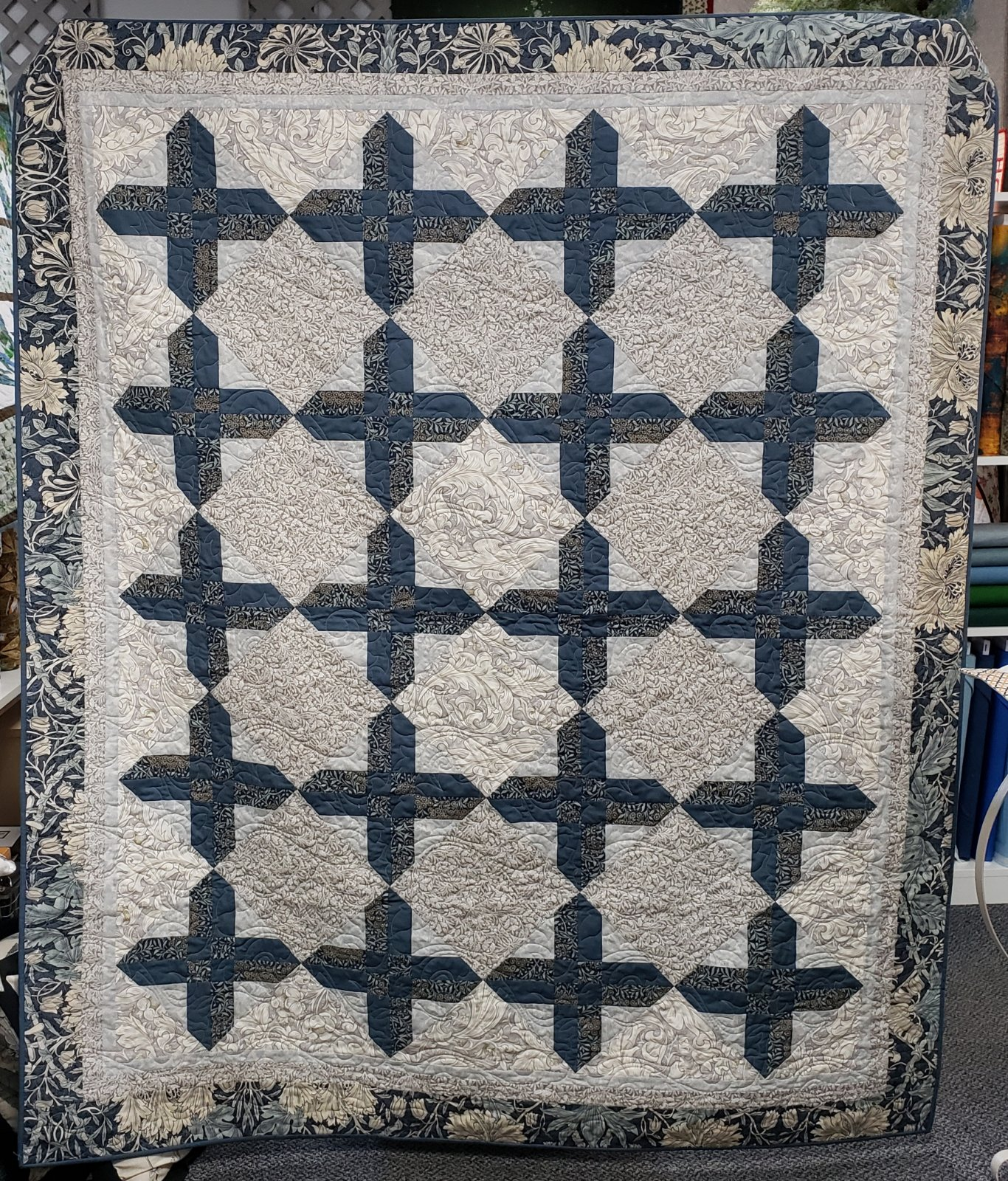 Scottish Cross Quilt