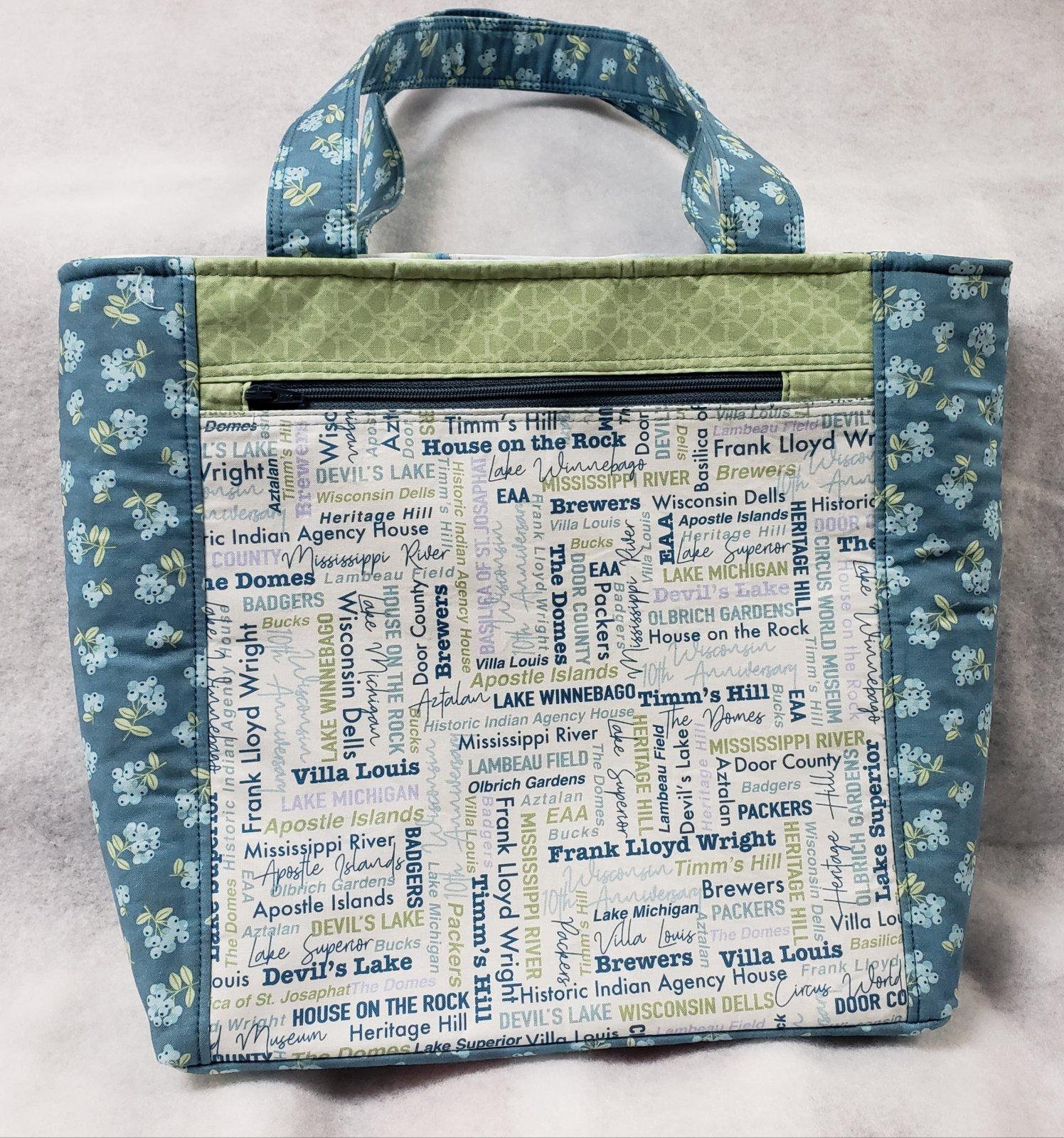 2021 WI Shop Hop Hanalei Handbag