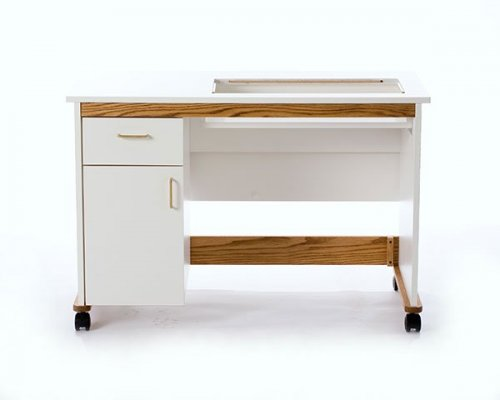 Standard Sewing Cabinet/table one drawer and one door for storage