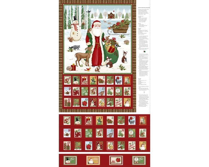 A Time of Wonder Advent Panel & Gift Tags