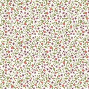 Daisy Mae Berry Blossoms White