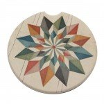 Car Coasters Hex Star