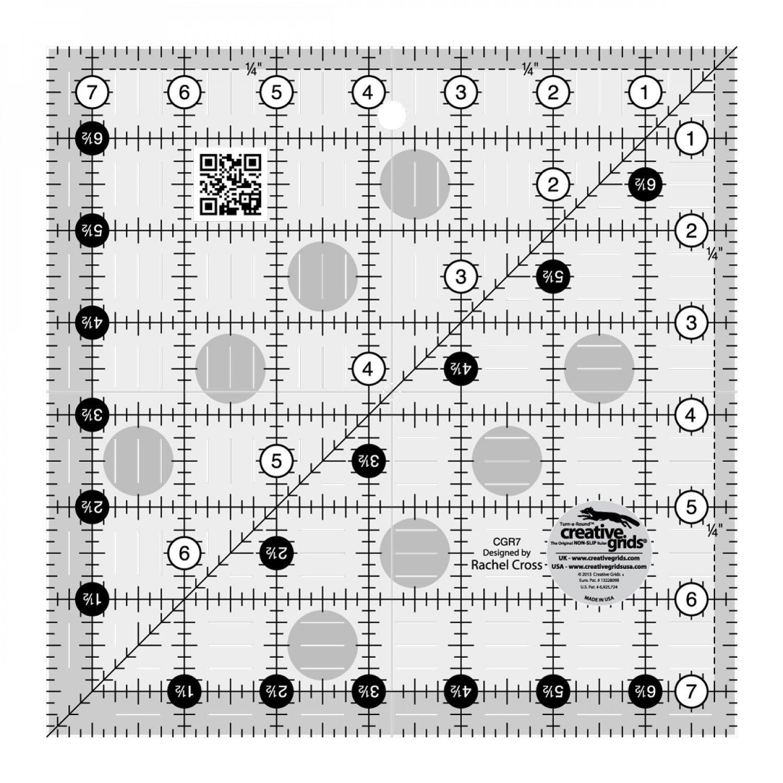 Creative Grids 7.5 X 7.5  Square