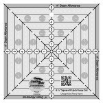 Creative Grids 6.5 X 6.5 Square It Up/Fussy Cut Ruler