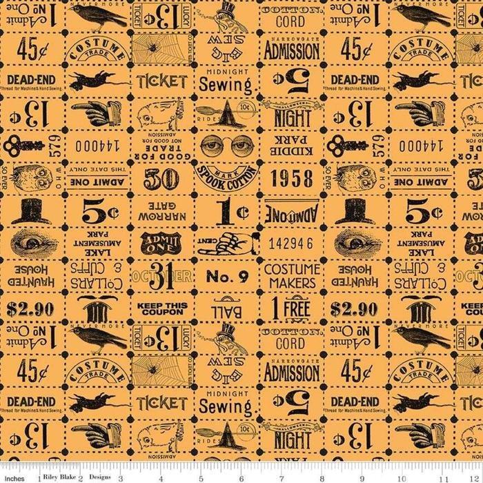 Costume Maker Sm Print Orange