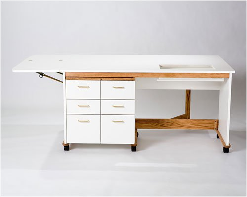 Tracey's Tables Double box cabinet/table includes wide breadboard, side leaf and filler leaf