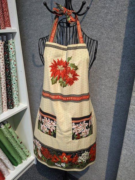 Yuletide Botanica Apron Kit