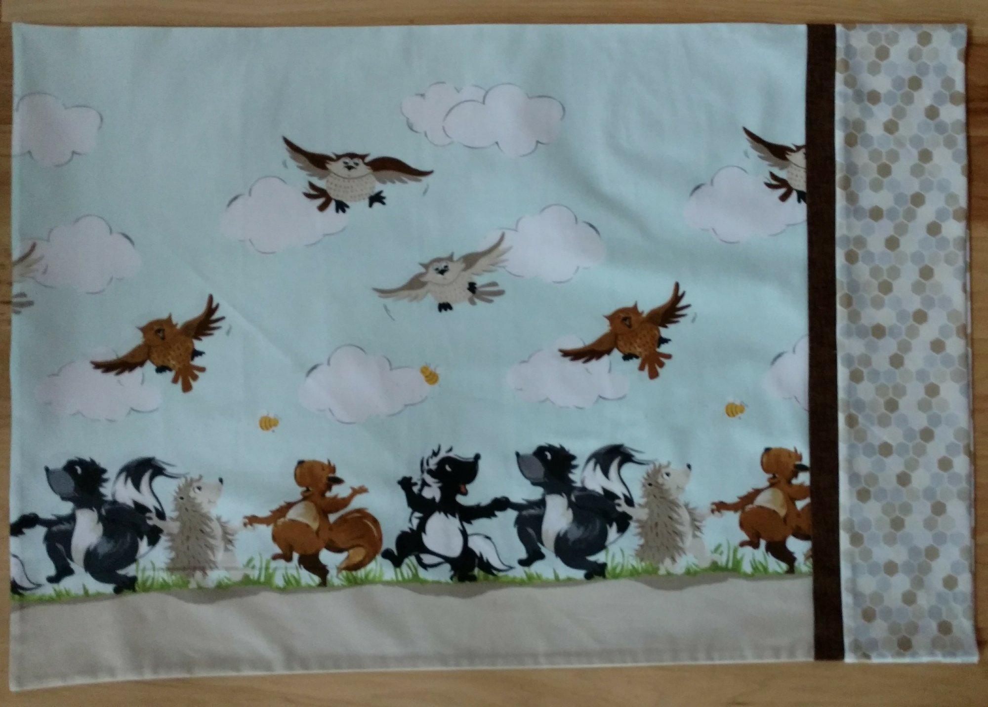 Woodland Animals Pillowcase