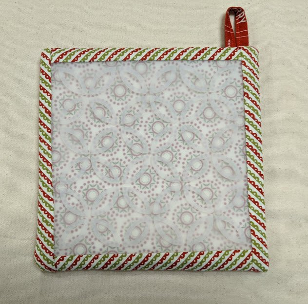 Hot Stuff Trivet & Pot Holder Small Kit: Christmas