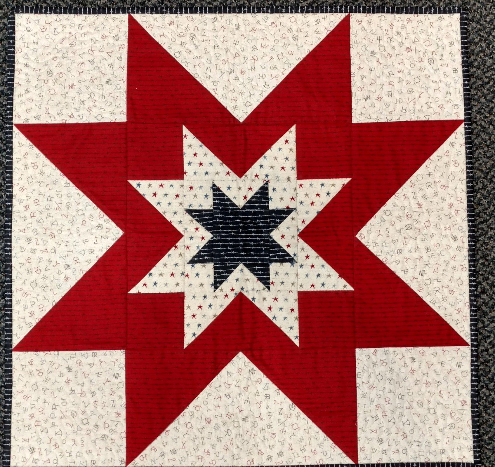 Stars Patriotic Topper Kit