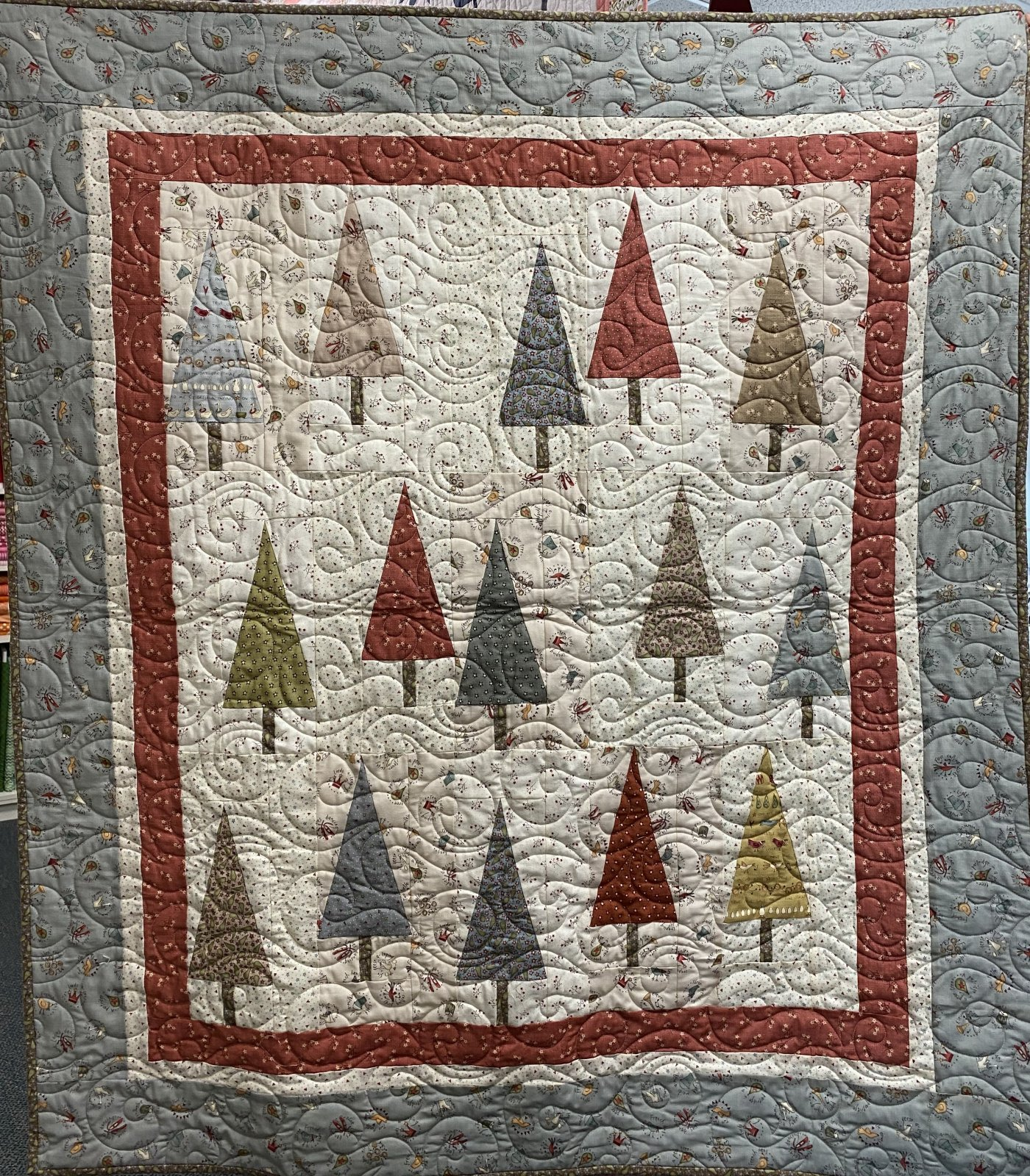 On the 12th Day Tree Quilt