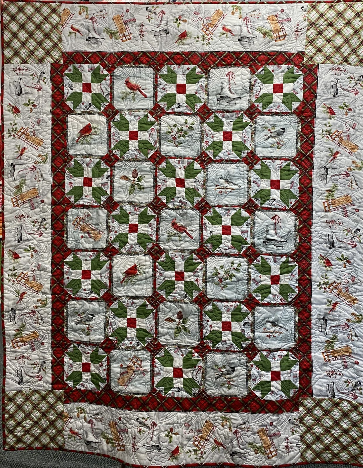 Winter Wonderland Quilt Kit