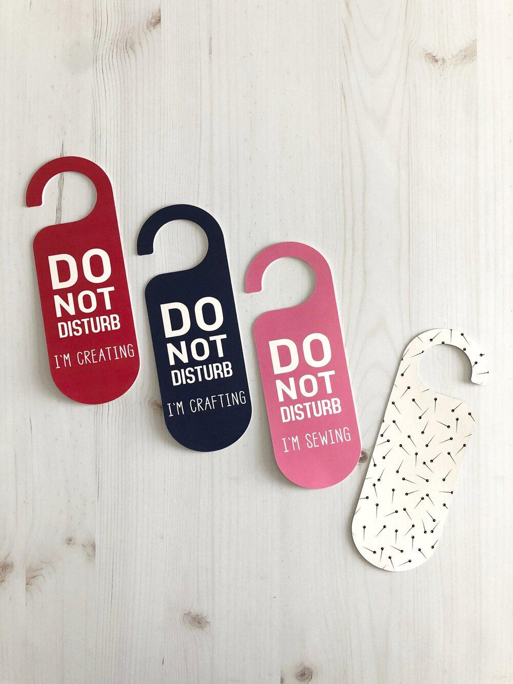 Pin Drop Door Hanger - I'm Creating