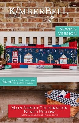 Sewing Version Book: Kimberbell Red, White & Bloom Bench Pillow
