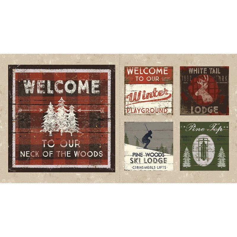 Winter Play Welcome Panel