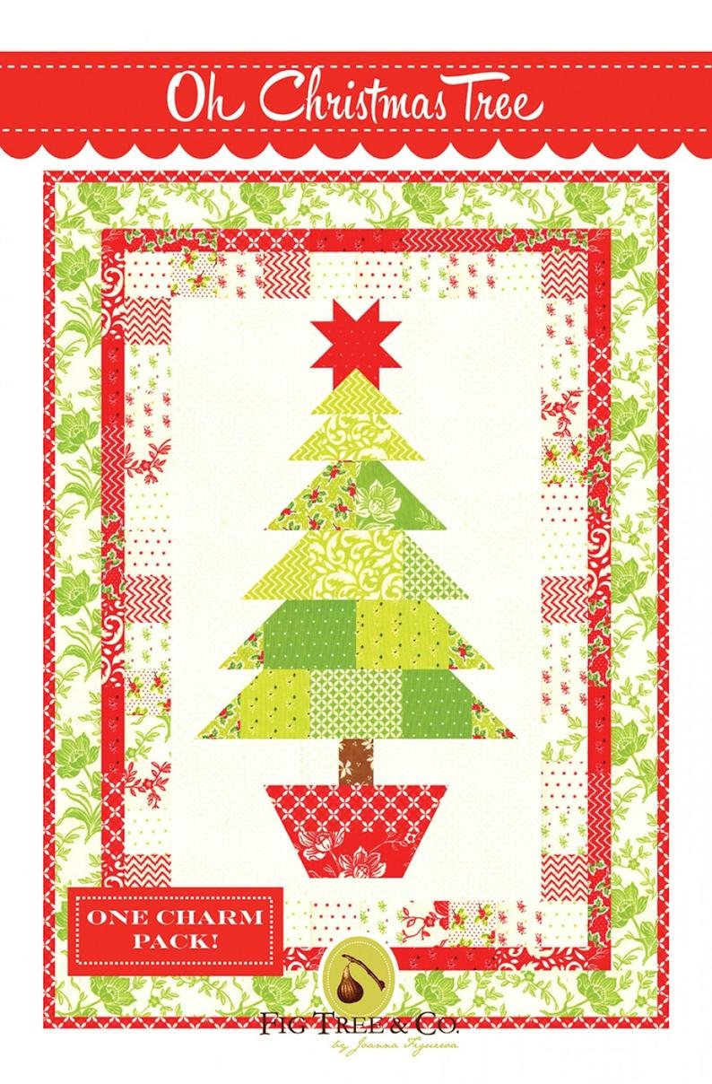 Oh Christmas Tree Quilt Kit