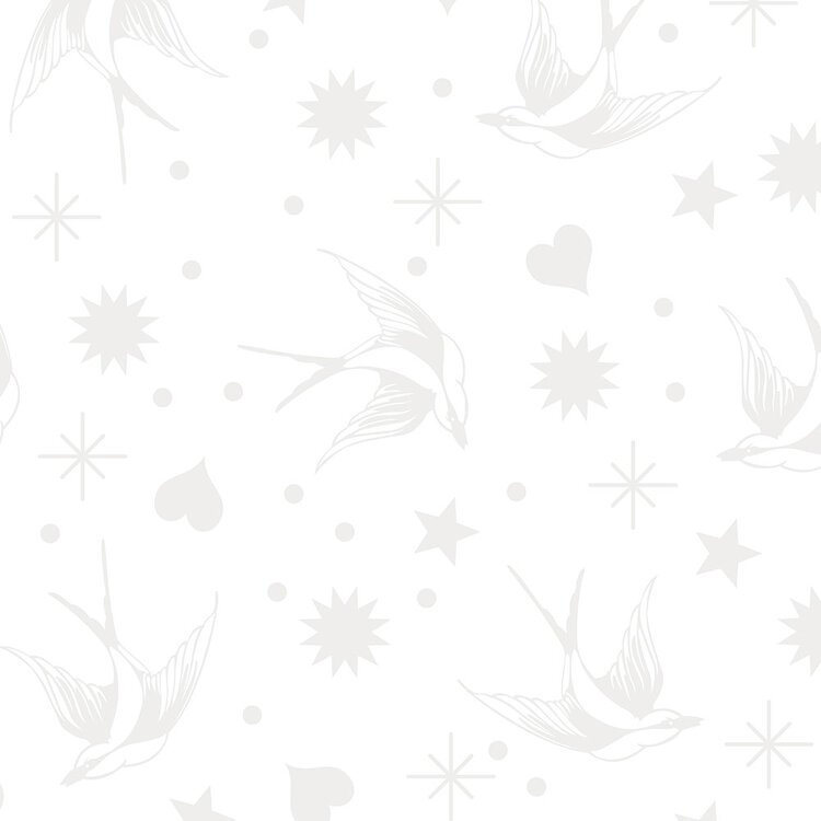 Tula Pink Linework Fairy Flakes - Paper