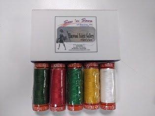Limited Edition Aurifil Thread - Christmas Colors!