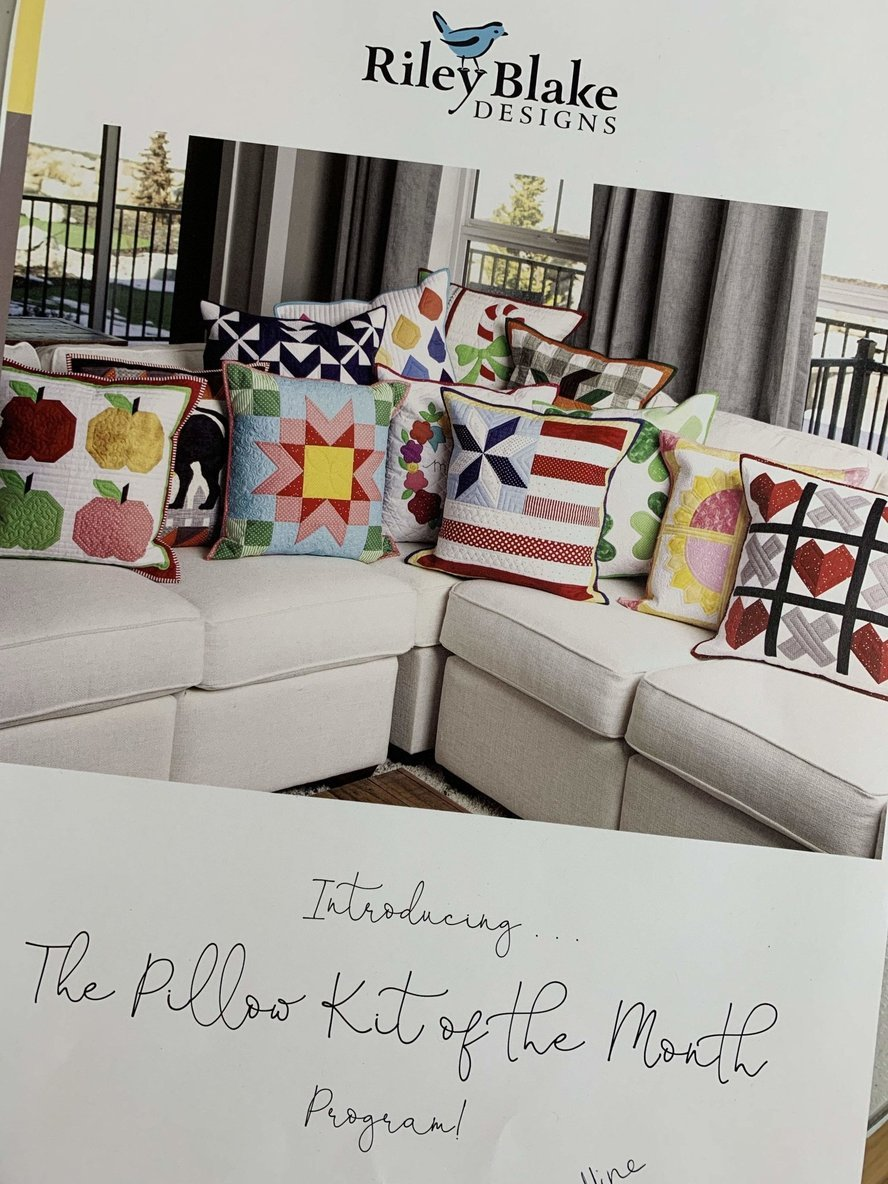 Pillow of the Month Club Paid in Full