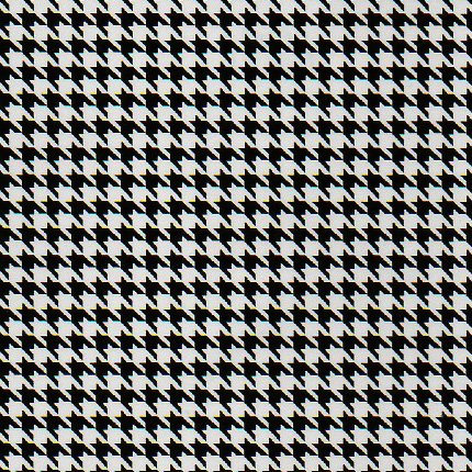 Fabric Finders 1771 houndstooth