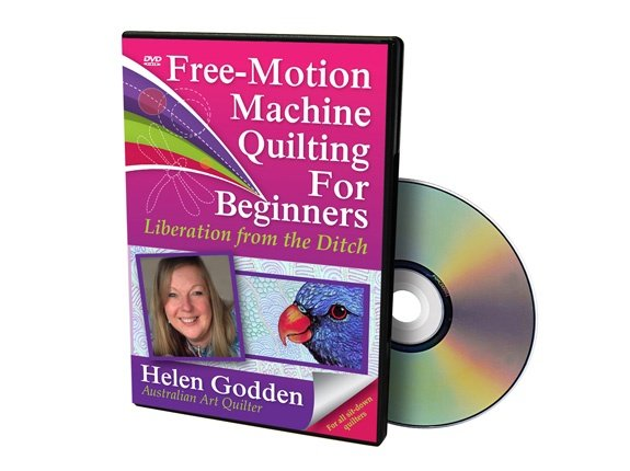 DVD: Free-Motion Machine Quilting for Beginners