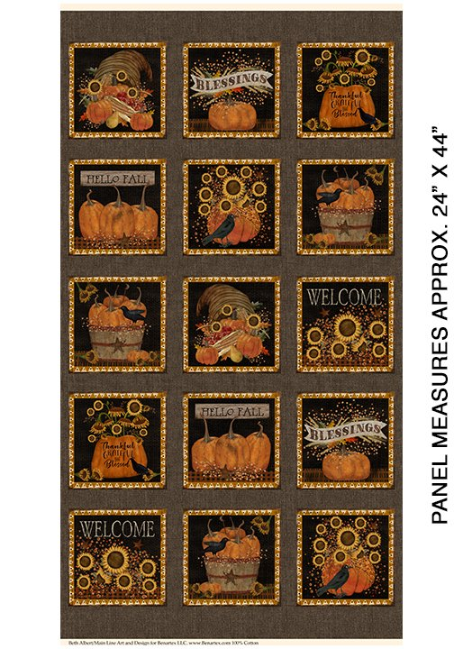Welcome Fall Panel (Rustic Fall Collection)