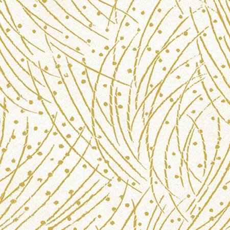 Festive chickadees - Golden Pine Parchment