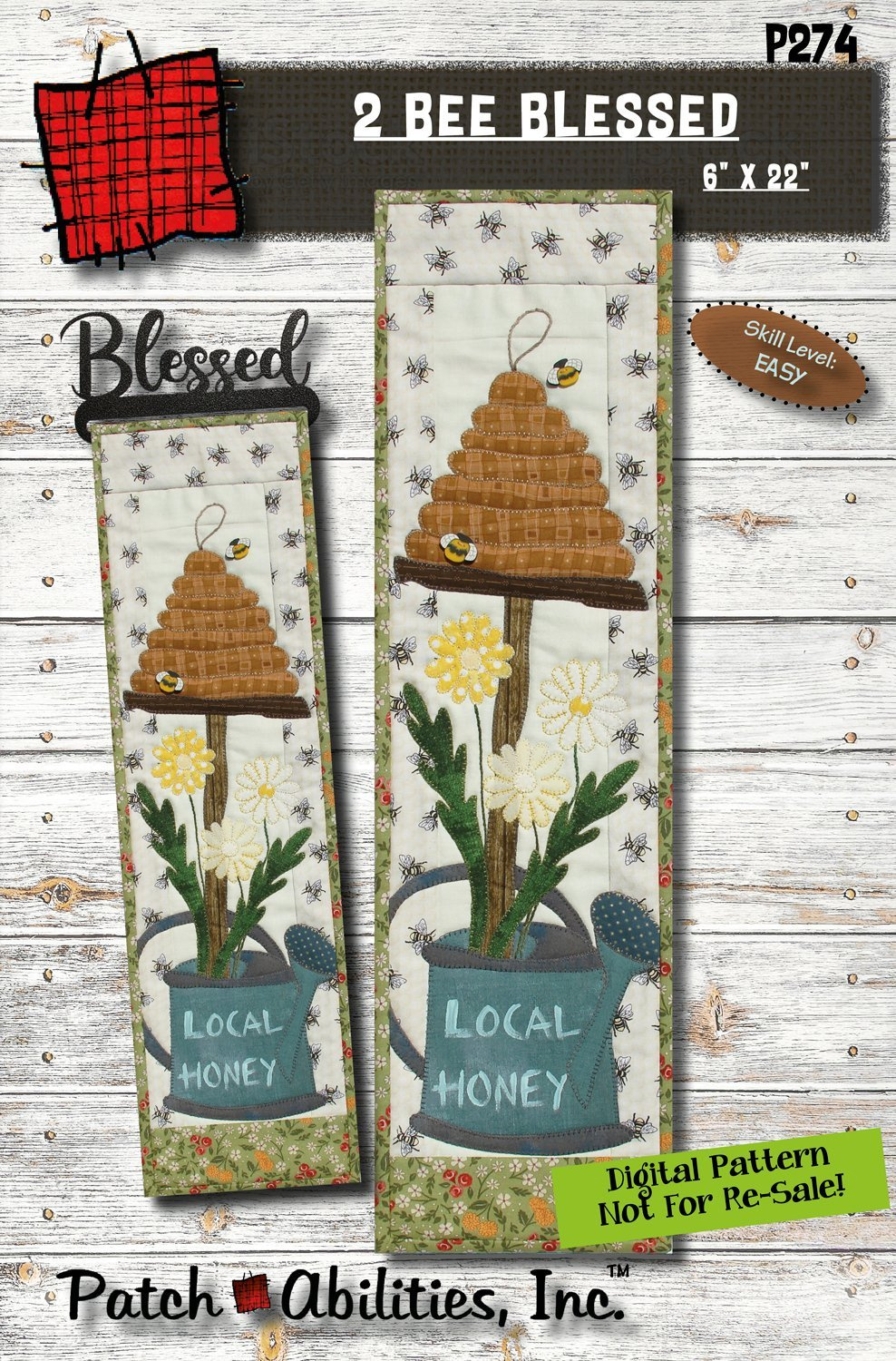 2 Bee Blessed Pattern