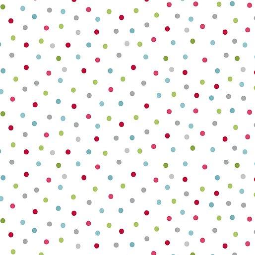 Joy-Festive dot White