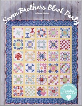 7 Brothers Block Party Book/Panels Pkg-Tensisters