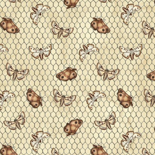 Love4 Cotton Moths & Chicken wire