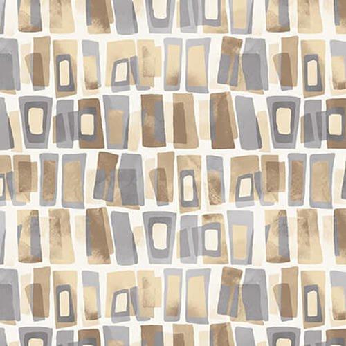 Tessellations Twice:  Ivory Rectangle Geo