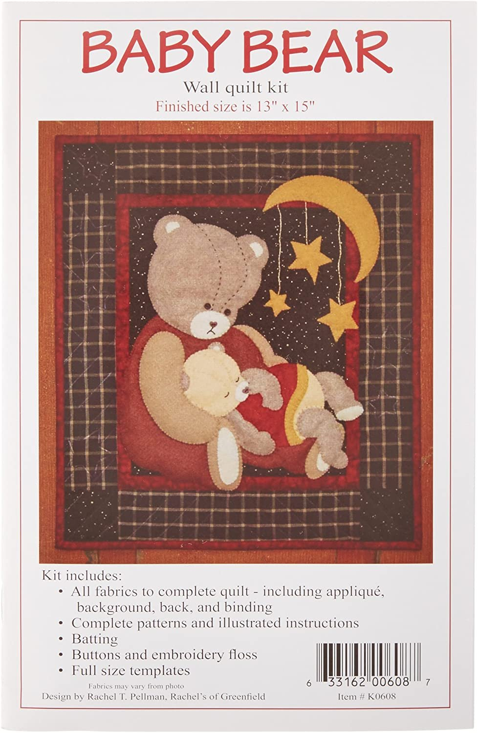Baby Bear Wall Quilt