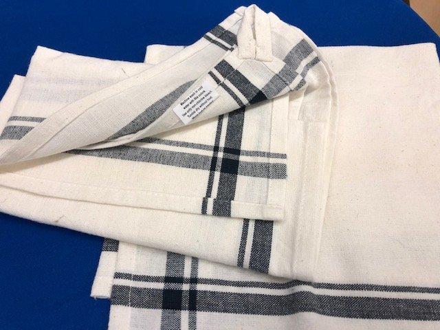 Towels-kitchen Stripe Edge