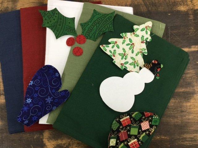 Christmas Applique Asst Kit