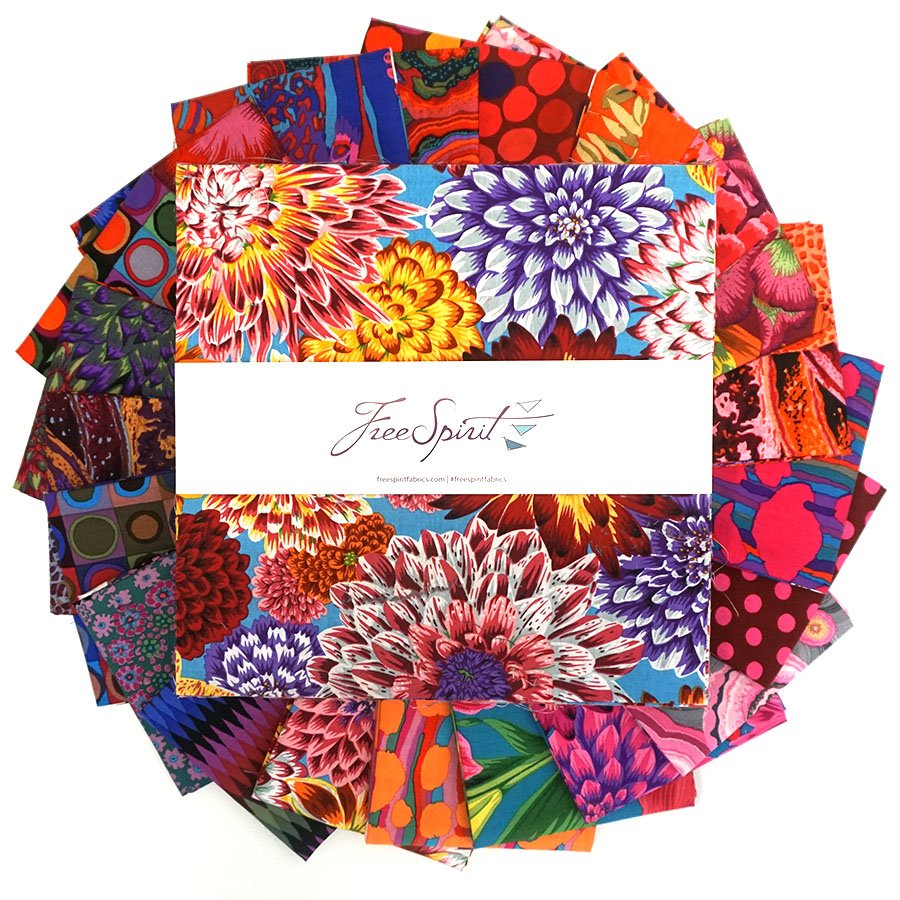 Kaffe Fassett Aug 2020 collection - 10 Bundle Hot
