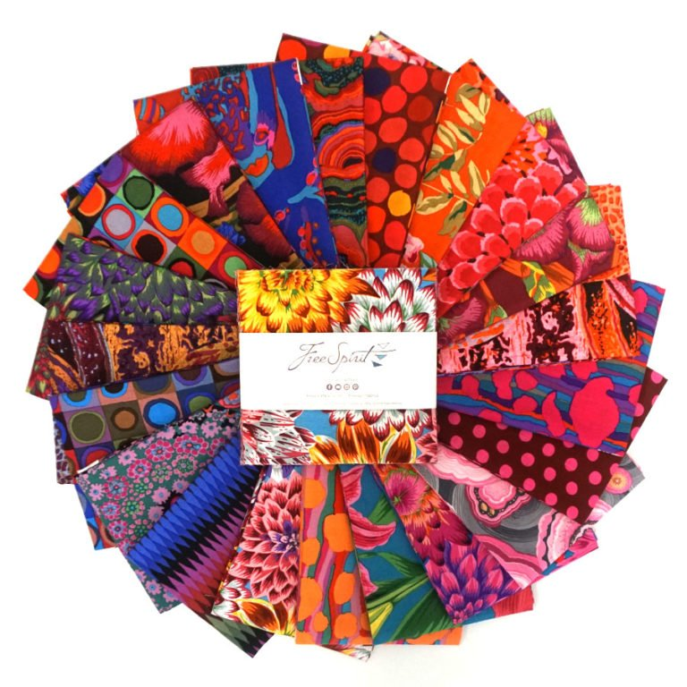 Kaffe Fassett Aug 2020 collection - 5 charm pack Hot